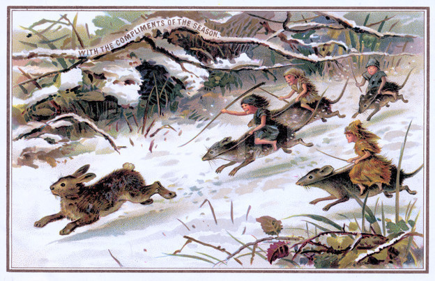 Rats Hunt Rabbit
